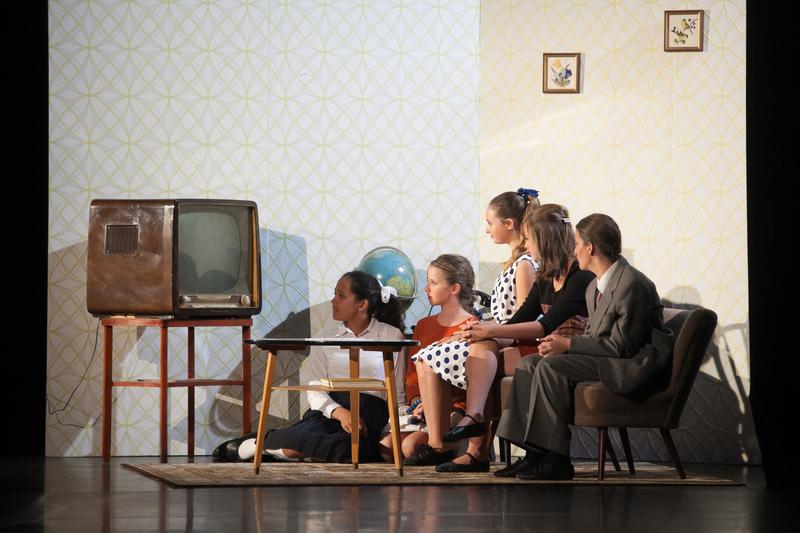 Im Deutschen Wohnzimmer 1960
